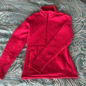 Pink Patagonia Zip-Up Fleece